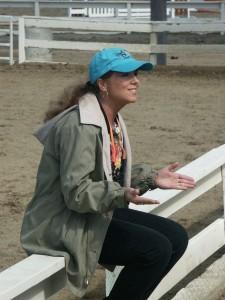 Mary Ann Simonds teaching