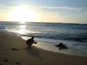 man-beach