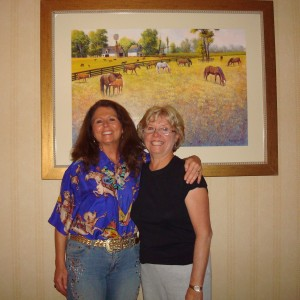 Karen Sussman, ISPMB & MA at Wild Horse Summit