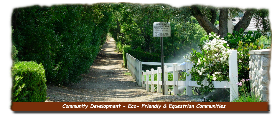 Community Development -Eco Friendly Communities